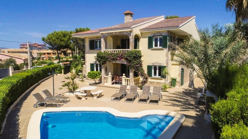 Detached Villa in El Toro - Port Adriano - Aerial