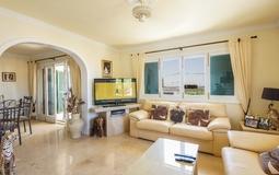 Detached Villa in El Toro - Port Adriano - Living