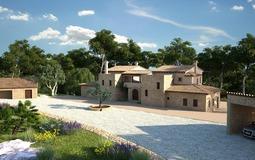 Under Construction in Andratx - Villa Project