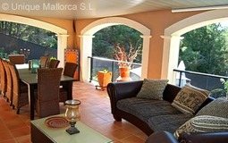 Detached House in Cala Vinyes - Covered Terrace