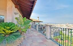 Duplex Penthouse in Palma de Mallorca - Terrace with Palma Views