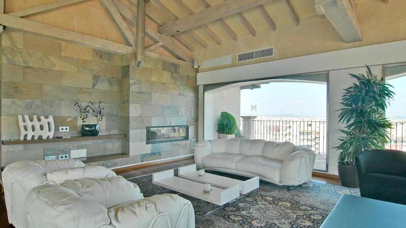 Duplex Penthouse in Palma de Mallorca - Secondary reception area