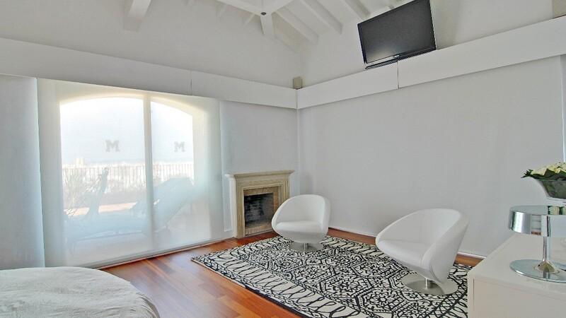 Duplex Penthouse in Palma de Mallorca - Bedroom sitting area