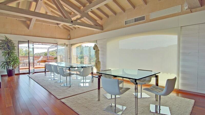 Duplex Penthouse in Palma de Mallorca - Dining room