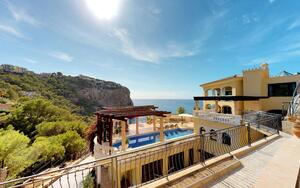 Villa in Puerto Andratx - Mediterranean villa with sea views
