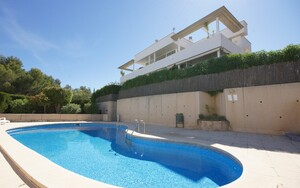 Penthouse in Cas Català - Small community with swimming pool