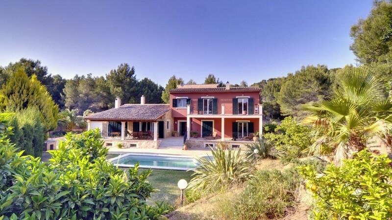 Detached Villa in Costa de la Calma - Detached villa in large gardens