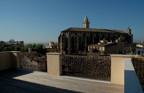 Duplex Penthouse in Palma de Mallorca - View