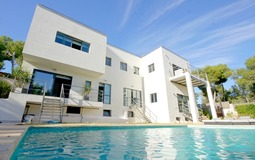 Villa in Cala Vinyes - View from pool area