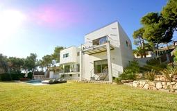 Villa in Cala Vinyes - View from garden