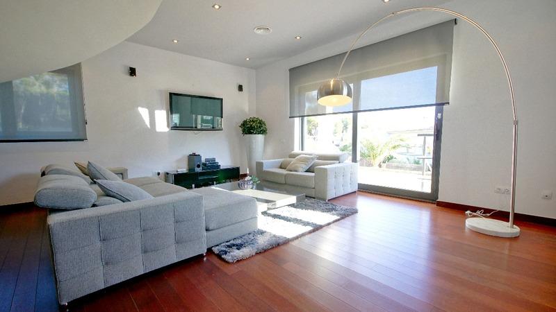 Villa in Cala Vinyes - living room