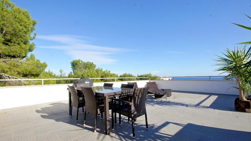 Villa in Cala Vinyes - Roof terrace