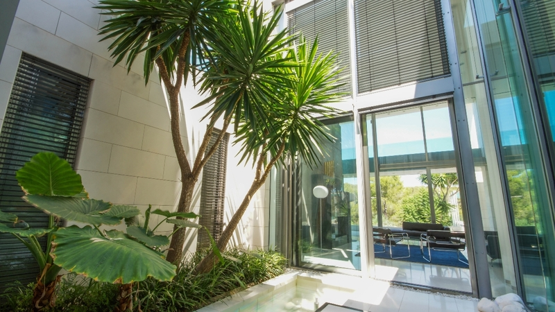 Villa in Sol de Mallorca - Courtyard