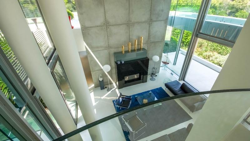 Villa in Sol de Mallorca - Saloon from upper level