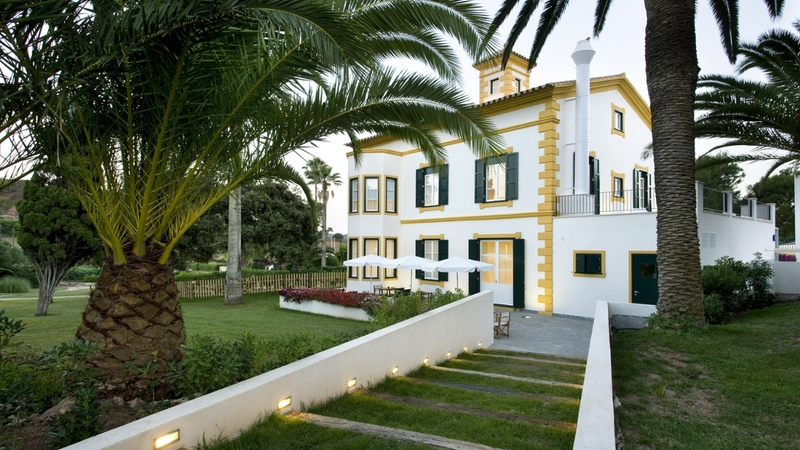Hotel in Menorca - External view