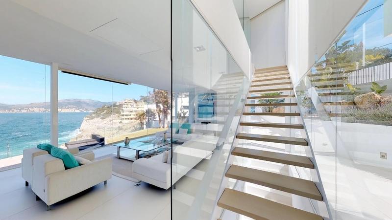 Villa in Nova Santa Ponsa - Stairway - open plan