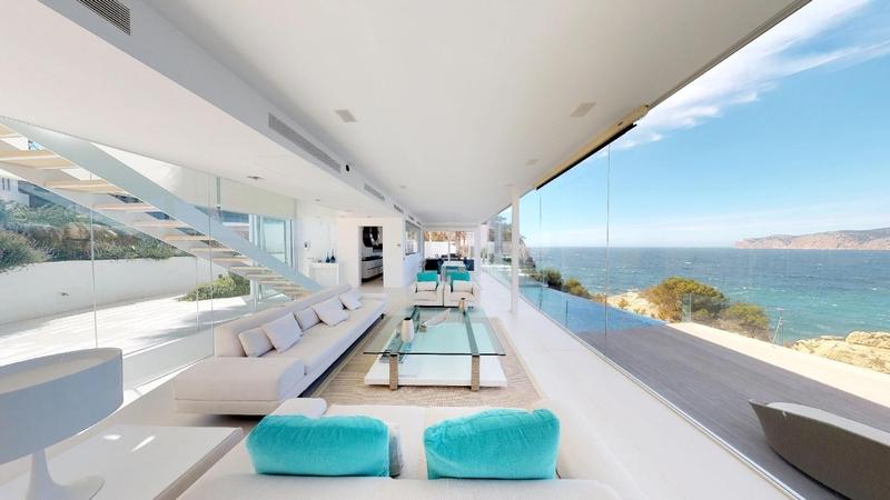 Villa in Nova Santa Ponsa - Living room - open plan