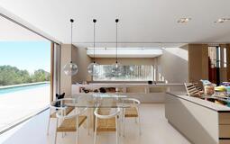 Villa in Son Vida - Kitchen dining area