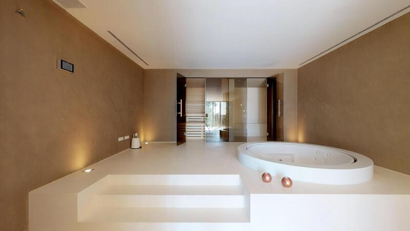 Villa in Son Vida - Jacuzzi tub with spa and gym