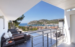 Detached Villa in Puerto Andratx - Terrace view