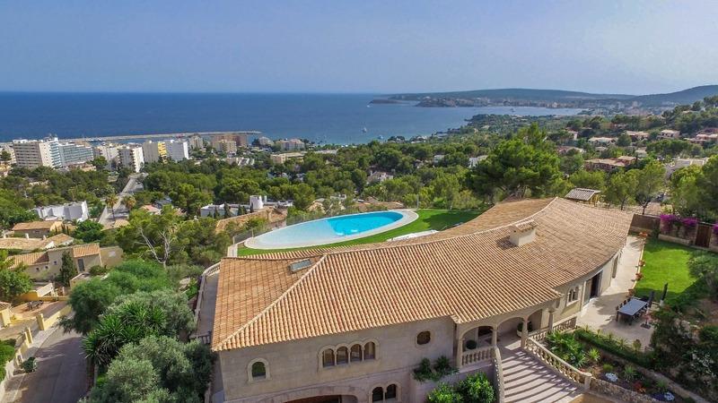 Detached Villa in Costa D´en Blanes - Aerial2