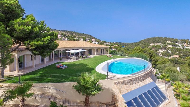 Detached Villa in Costa D´en Blanes - Aerial4