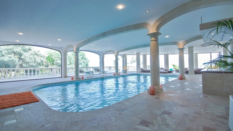 Detached Villa in Costa D´en Blanes - Indoor pool and spa