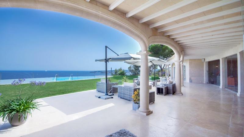 Detached Villa in Costa D´en Blanes - Covered terrace