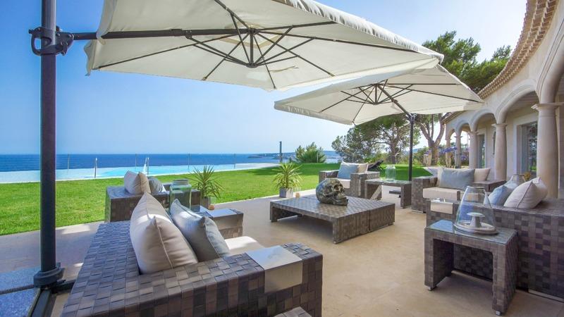 Detached Villa in Costa D´en Blanes - Terrace lounge1