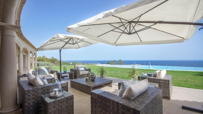 Detached Villa in Costa D´en Blanes - Terrace lounge2