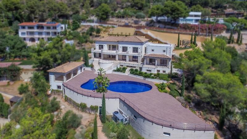 Villa in Son Vida - Aerial1