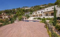 Villa in Son Vida - Pool terrace