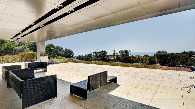 Villa in Costa D´en Blanes - Covered terrace