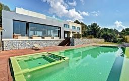 Villa in Costa D´en Blanes - Front villa