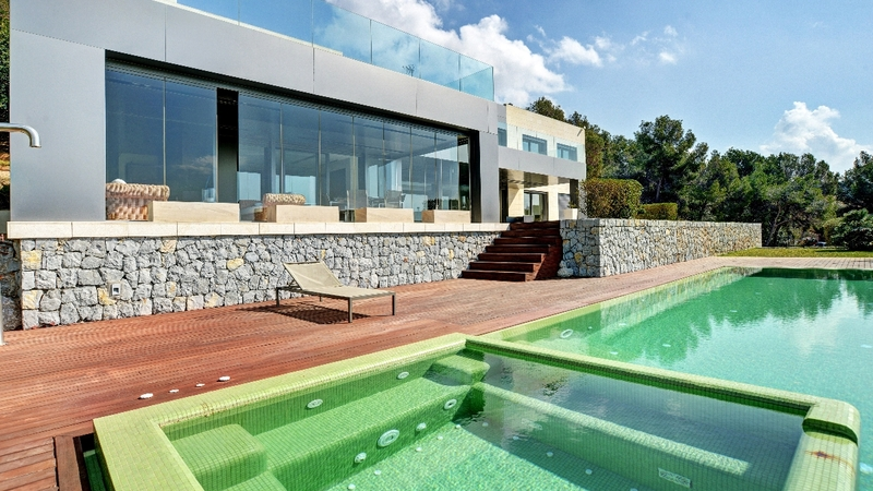 Villa in Costa D´en Blanes - Villa with pool