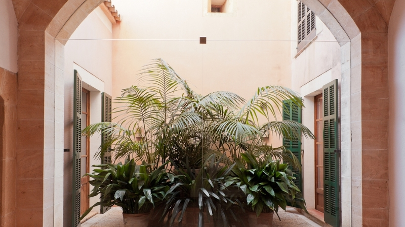 Finca in Mallorca - Interior patio