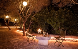 Finca in Mallorca - Garden sitting area