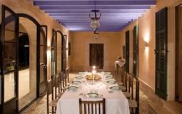Finca in Mallorca - Dining area