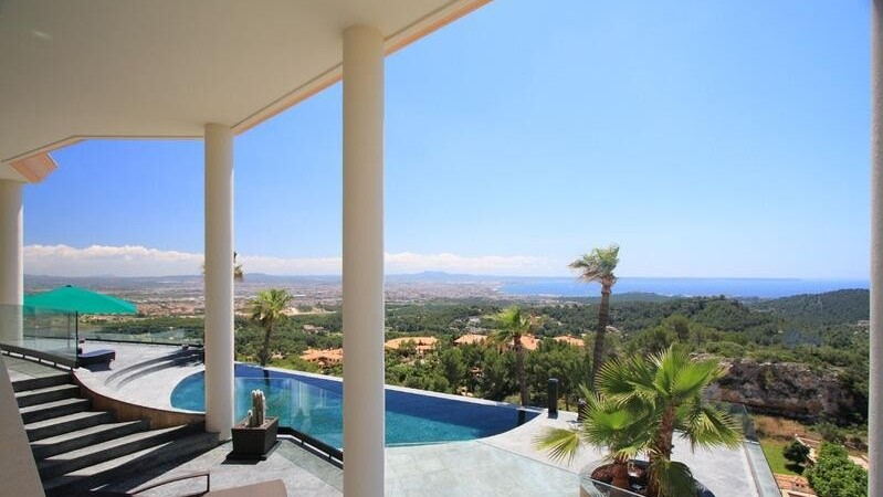 Villa in Son Vida - Distan sea views