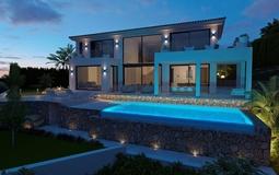 Villa in Nova Santa Ponsa - Facade by night FL