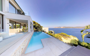 Villa in Nova Santa Ponsa - Deluxe First Line Villa overlooking the malgrats