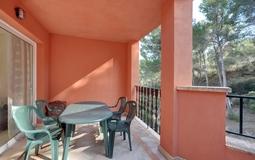 Penthouse in Santa Ponsa - Balcony area