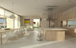 Villa in Son Vida - Kitchen and dining room