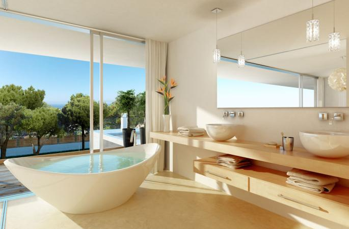 Villa in Son Vida - Bathroom