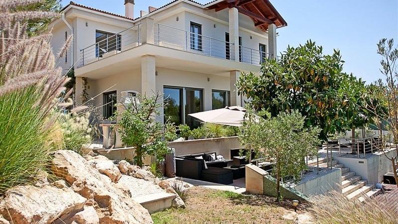 Villa in Cala Vinyes - Villa with pool