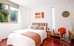 Villa in Cala Vinyes - Bedroom area with nice views