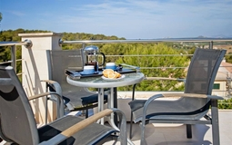 Villa in Cala Vinyes - Panoramic view terrace