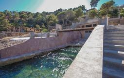 Villa in La Mola - Boat house and sea access