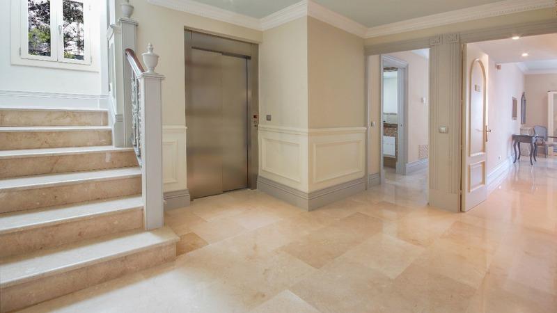 Villa in La Mola - Elevator Hall and Suites entrance