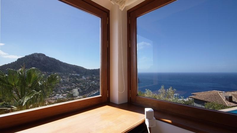 Villa in Cala Llamp - Living room sea view